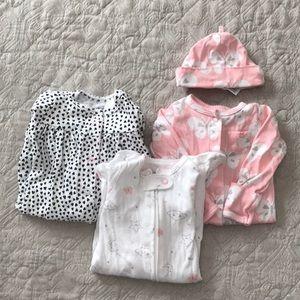 Carters bay girl newborn bundle